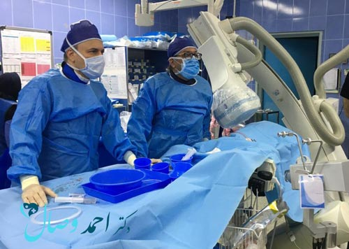 درمان بیماری asd از طریق اینترونشن توسط دکتر وصال