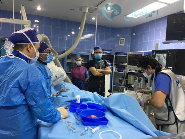 دکتر احمد وصال اينترونشن اطفال