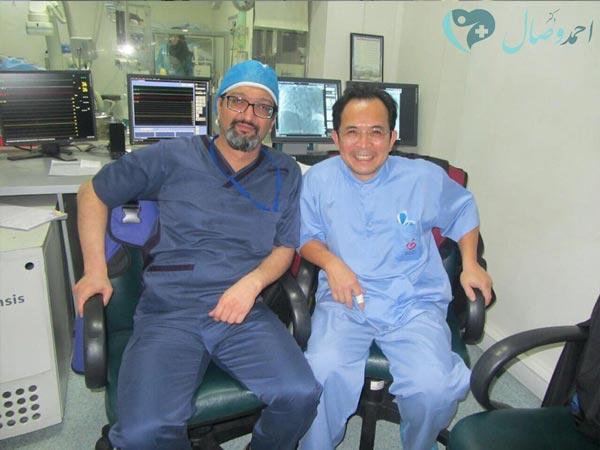 فوق تخصص قلب کودکان , دکتر احمد وصال